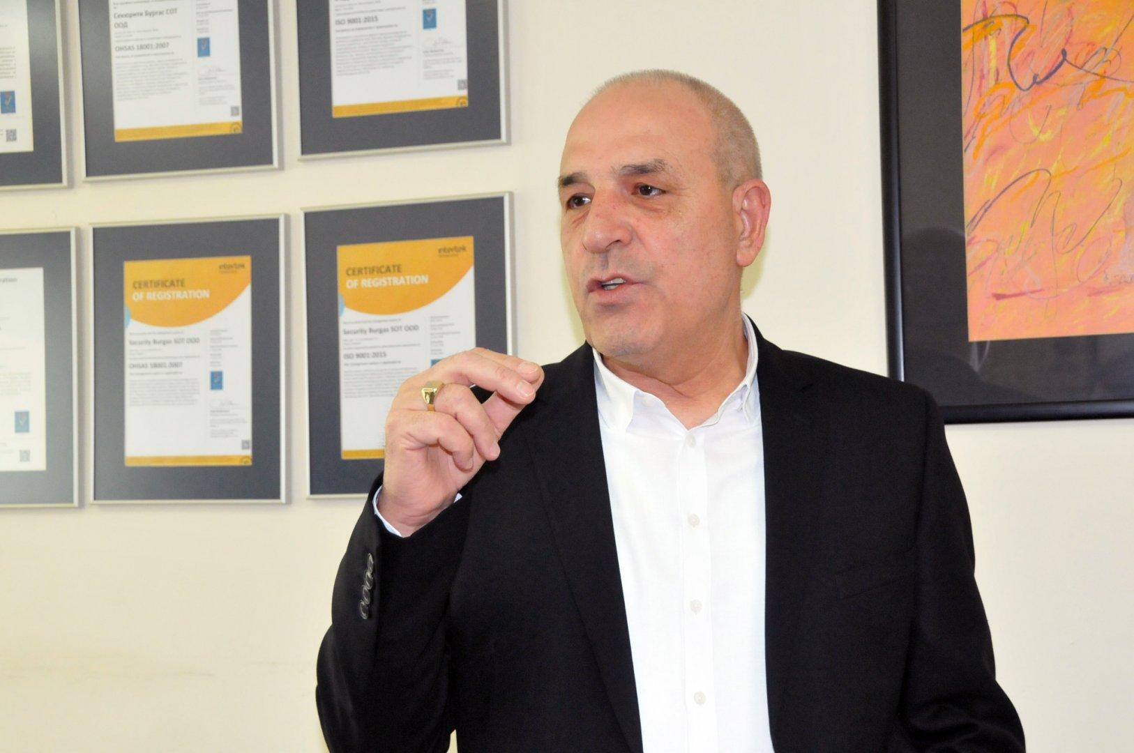 Петко Иванов е управител на 3С СОТ Бургас
